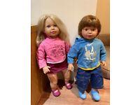 Twin Dolls boy & girl