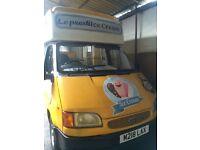 Ice cream van and Trailer