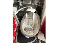 Electronic Joie baby swing chair