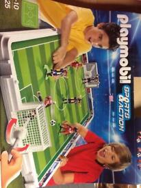 Playmobil 6857 take along football set