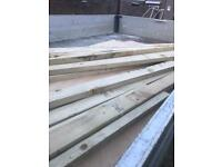 Plywood and timber