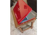 new dell inspiron 15 5000 series. red.