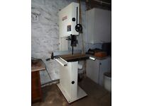 Jet woodworking bandsaw model JWBS-16