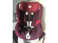 Britax DualFix IsoFix Car Seat (Group 0 Plus/1 ) grape