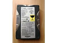 Seagate 40GB hard drive disk model st340810a