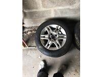 Fiat punto alloys