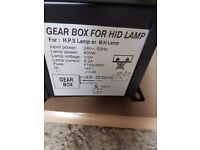 Box for hid lamp