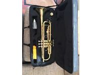 Trumpet TR701 with mouth piece and mute