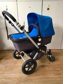 Bugaboo Cameleon 2, Blue/Charcoal Grey