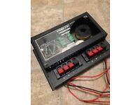 SOUNDLAB CROSSOVER NETWORK FOR CAR AUDIO SPEAKERS/SUBWOOFER BASS AMPLIFIER