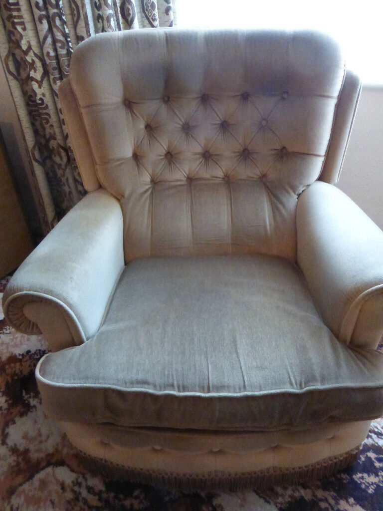 Armchairs (two)excellent condition Fishpondsin Fishponds, BristolGumtree - Two armchairs, excellent condition. Light brown in colour 83cm wide. 92cm depth. Chair back is 90cm high. Free to collect from Fishponds, Bristol. Or can deliver within Bristol for £15