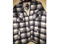 Men's padded shirt