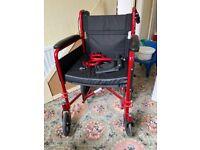 I-Lite travel transit wheelchair