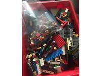 Large Lego bundle with figures