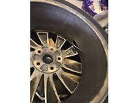 "18"" alloy wheel scirocco"
