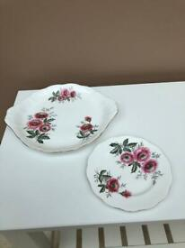 Vintage Royal Albert Bone China Plates x2