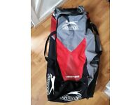 Virtually new Slazenger cricket bag, excellent condition