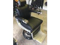 2 brand new Belmont Apollo barbers chairs