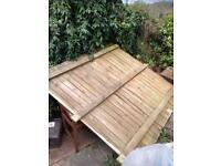 Fence panel 6'6' free