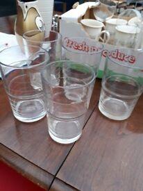 Tumblers - Set of 6 glass