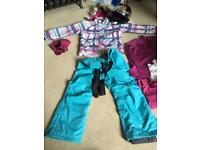 Ski outfit for kids