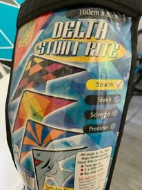 Delta Stunt Kite - Stealth, brand new