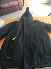 Boys black Gelert water proof coat