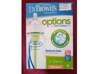 Brand new 4 Dr Browns bottles
