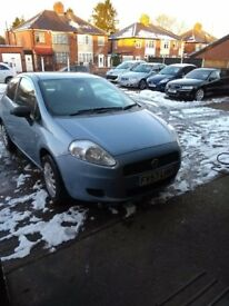 Fiat Punto in blue late 2007 106k good condition .. interior is good has city mode ...