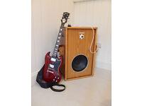 Vintage guitar amp