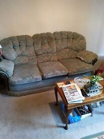 Arm chair and settee