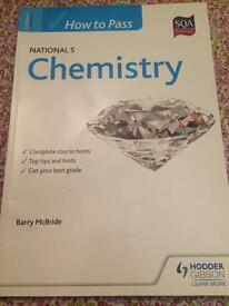 SQA Endorsed Hodder Gibson How to Pass National 5 Chemistry