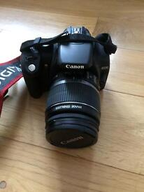 Canon eos 350d SLR with lens