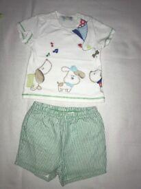 Mayoral shorts and tshirt set 4-6 months