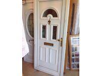 Second hand upvc door