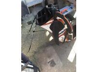 Ping golf club bag freestanding