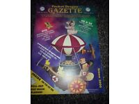 Pocket Dragon Gazette Spring 2000 club magazine