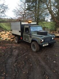 Defender 130 tipper