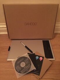 Wacom Bamboo Fun Medium Graphics Tablet, used, condition: like new