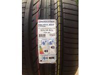 BMW X5 / X6 tyres x4 315 35 20 + 275 40 20