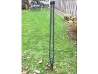 Fence post hole digger