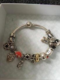 Star Wars chamilia bracelet
