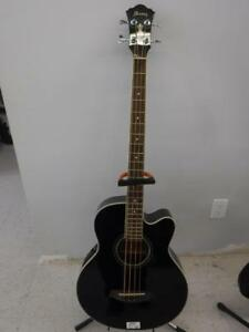 Ibanez Electric Acoustic Bass W/ Hard Case. We Buy and Sell Used Guitars and Musical Instruments. 115436 CH613404
