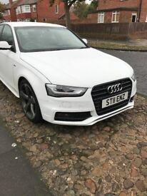 Audi A4 (2013) S-Line Black Edition 46k miles