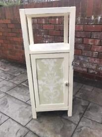 Shabby chic solid wood cabinet