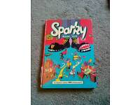 SPARKY 1979 Annual Vintage Book. £4.00. Can Post.