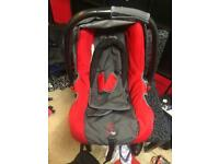 Phil and teds car seat infant carrier