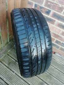 Dunlop SP Sport 01 - 225 45 18 tyre - part worn