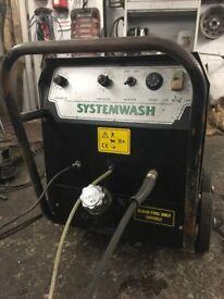 Systemwash Industrial diesel steam cleaner
