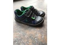 Boys clarks shoes 7 1/2 F